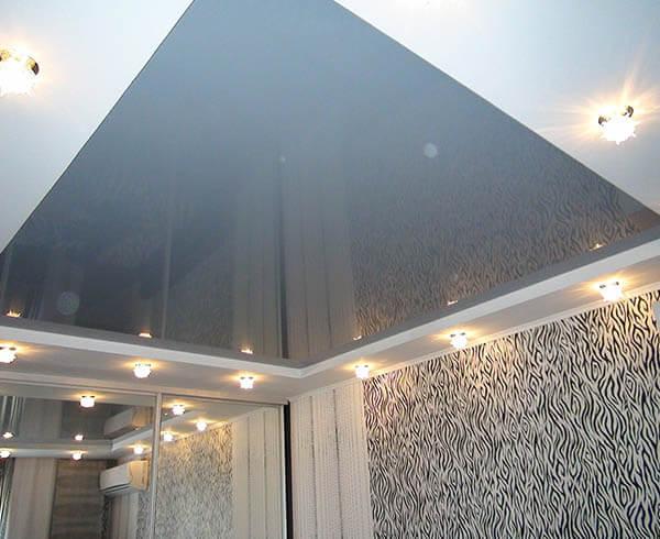 Натяжной потолок в спальню в Минске