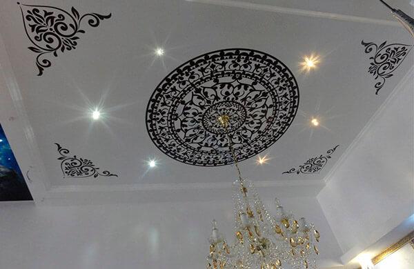 Художественные натяжные потолки в Минске