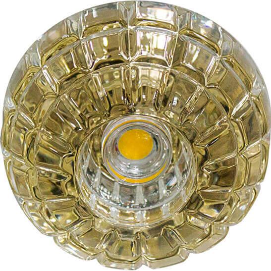 Светильник Feron JD87 + LED Золото
