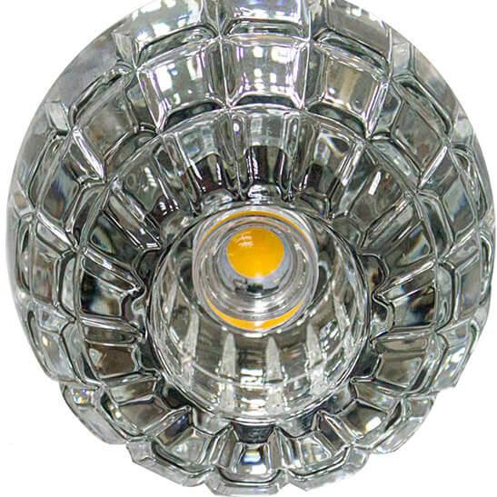 Светильник Feron JD87 + LED Серебро