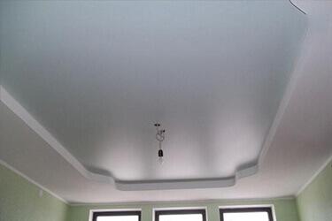 Белый цвет натяжного потолка в Минске