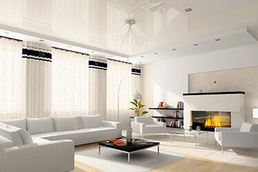 Что такое натяжной потолок?
