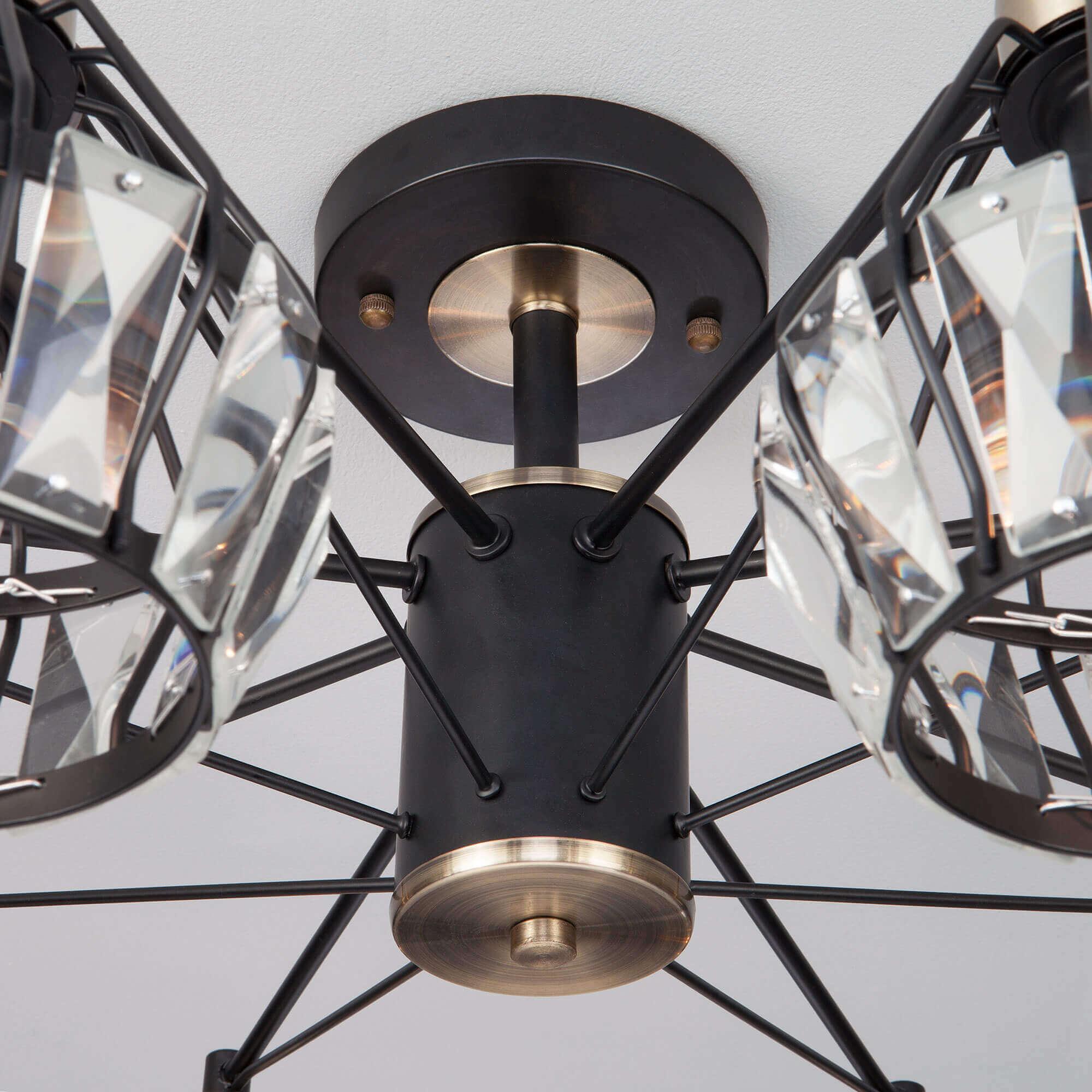Купить светодиодную люстру 70075/8 черный