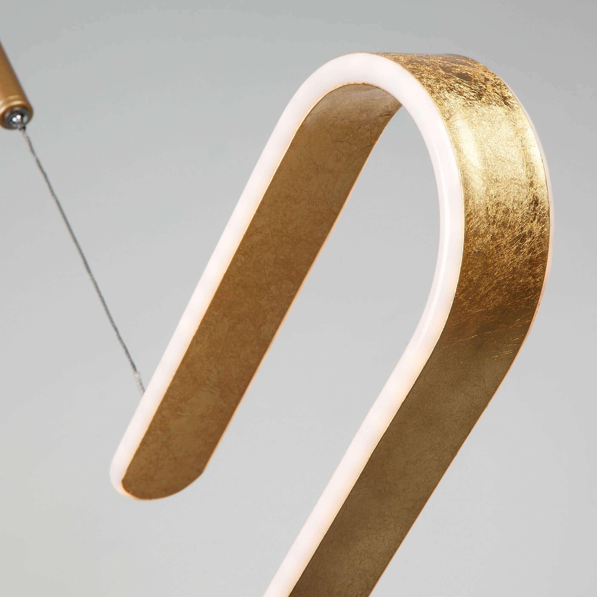 Купить светодиодную люстру 90072/1 золотой