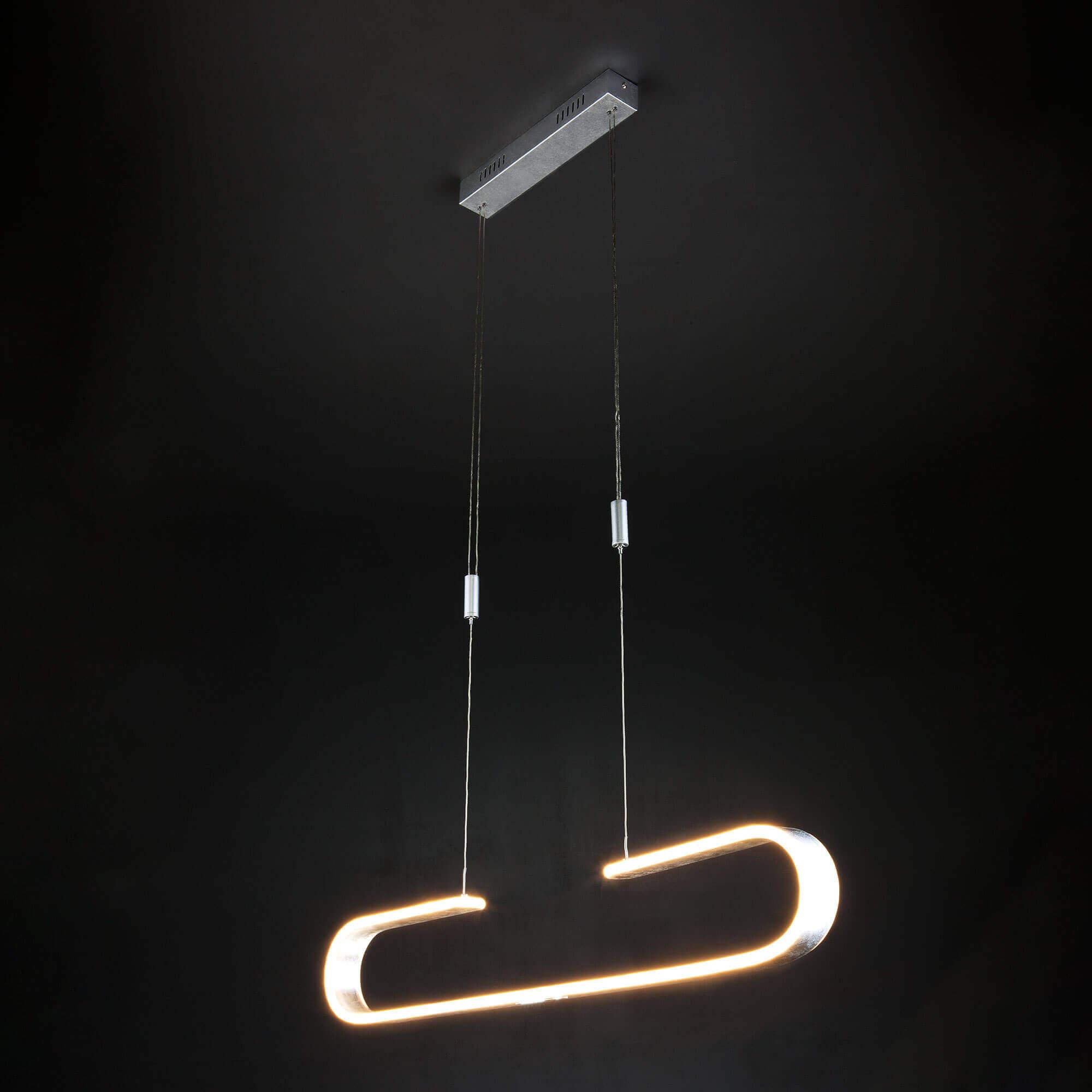 Купить светодиодную люстру 90072/1 серебряный