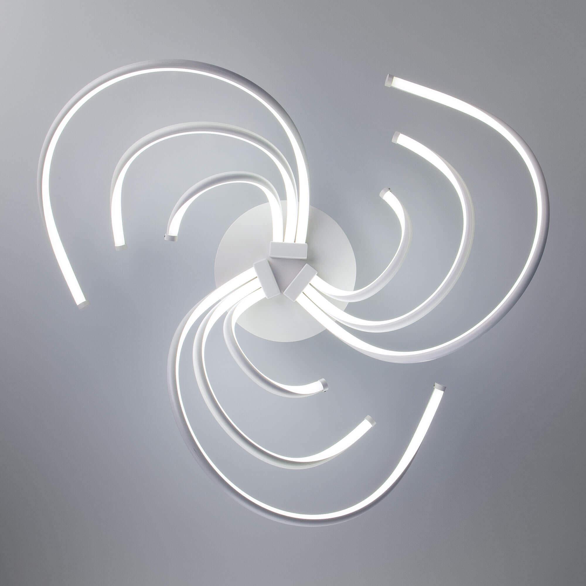 Купить светодиодную люстру 90104/9 белый