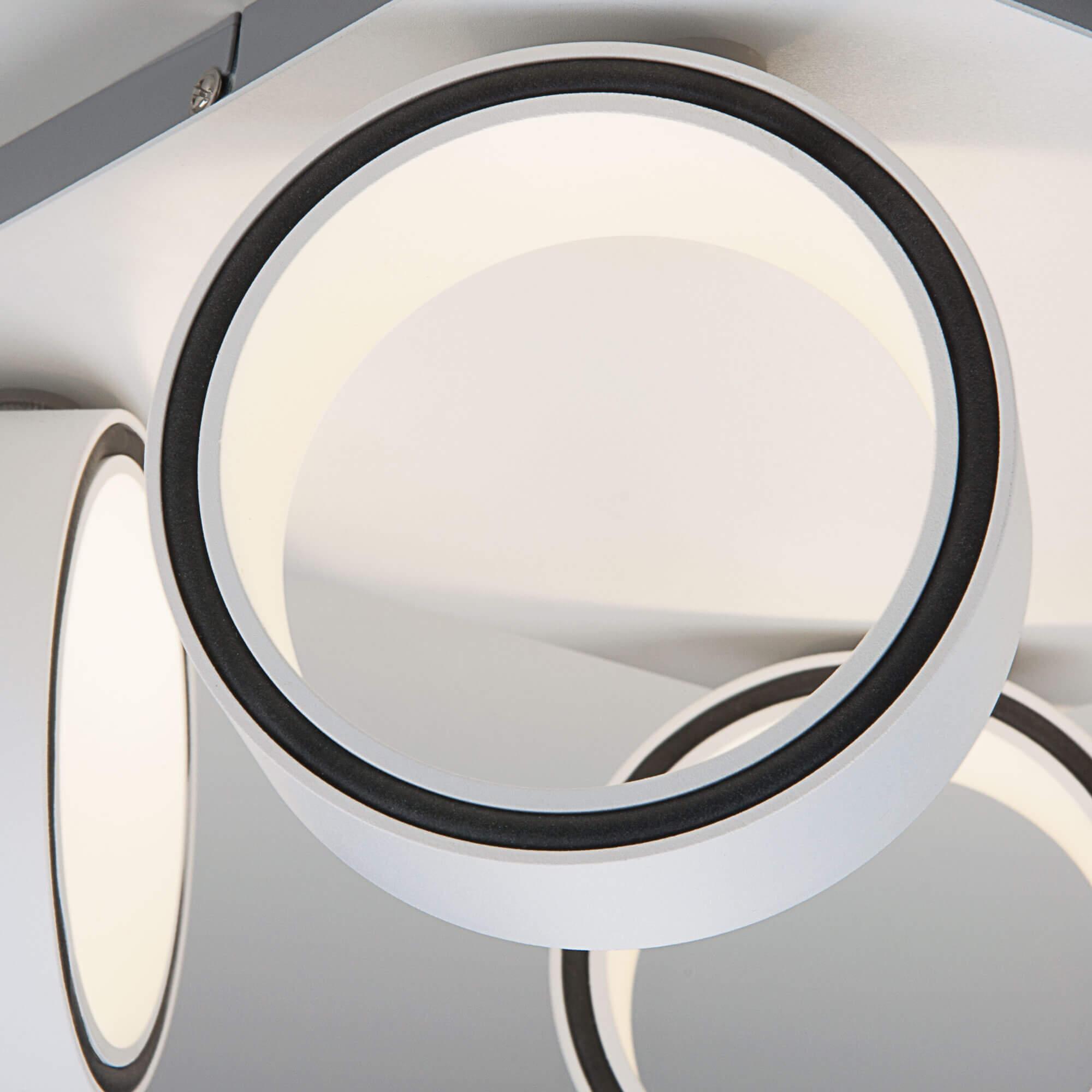 Купить светодиодный светильник 20068/4 LED белый Минске