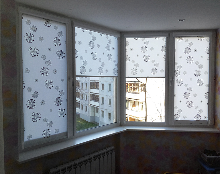 Рольшторы на балкон