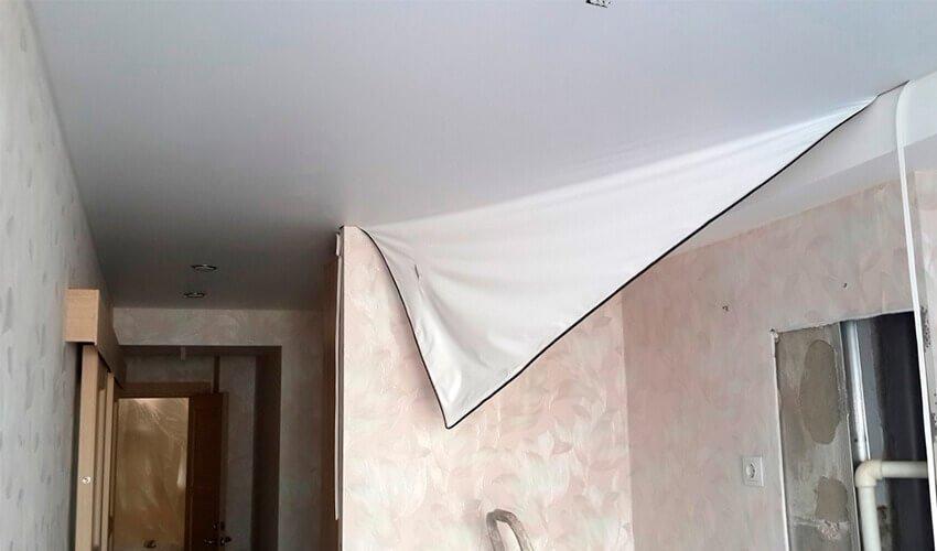 Демонтаж натяжных потолков в Минске