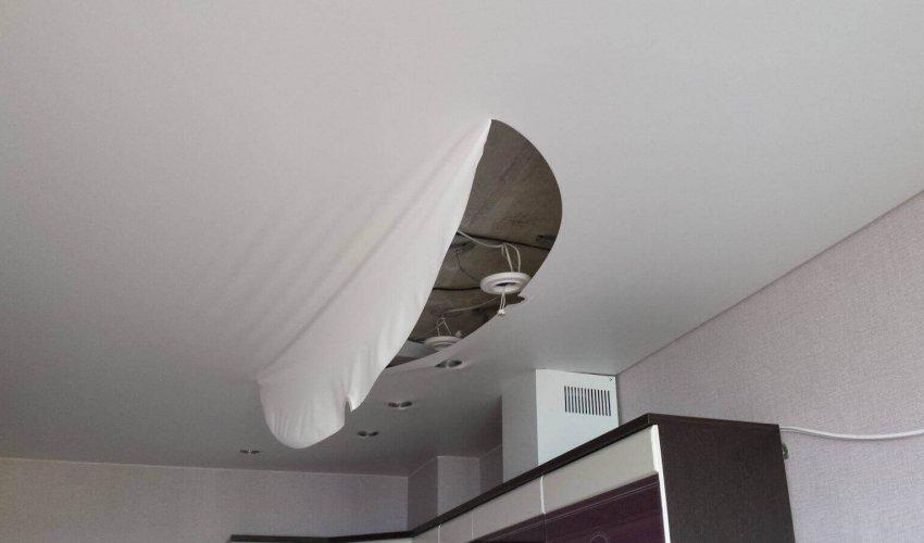 Качественный ремонт натяжных потолков