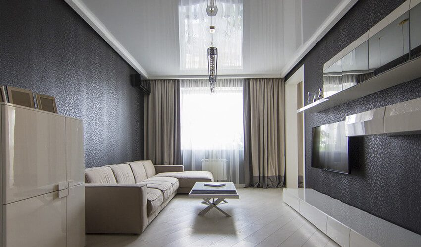 ТОП-10 стильных дизайнов оформления потолка в 2020 году