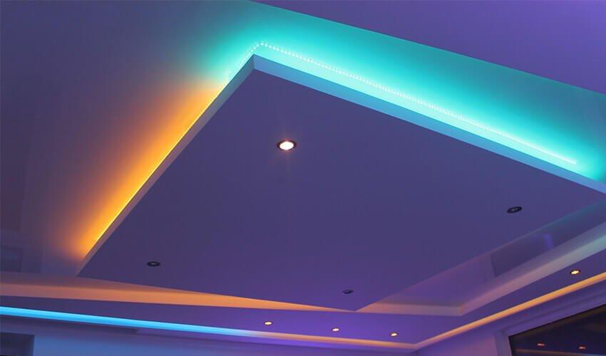 Виды натяжных потолков